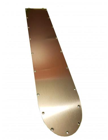 Metalowa osłona pokrywy podestu...